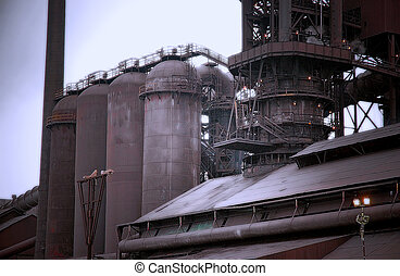 Steel Mill Blast Furnace