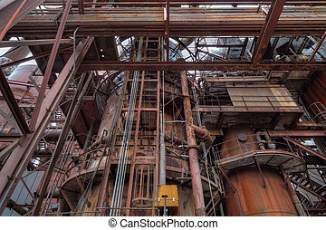 Steel mill detail