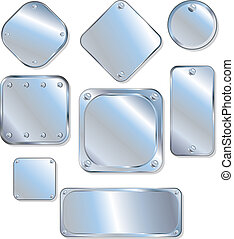 Steel Plate - Empty Steel Plates, Panels, Patches