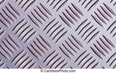 this image shows a fluted steel plate