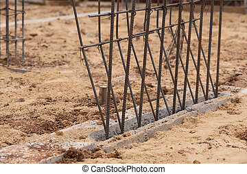 steel rod for stucture of building construction