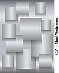 Steel square boards background