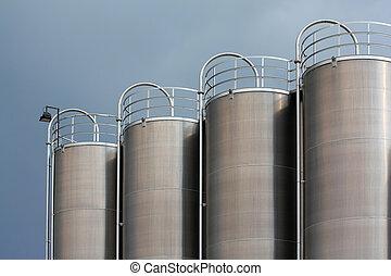 steel tanks