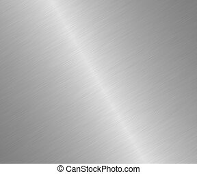 Steel texture, grey polished surface