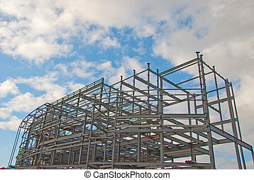 Steelwork and Blue Sky
