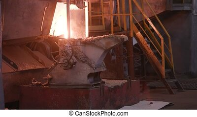 steelworks. Liquid hot metal, manufacture of metal products...