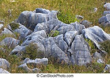 steen, formaties