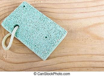steen, schrob, puimsteen, werktuig, hout, spa