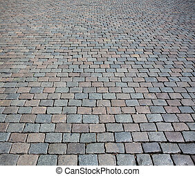 steen, verstellen, textuur, straat, achtergrond, of