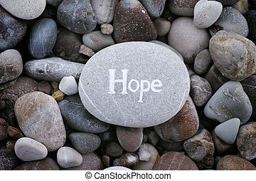 steen, woord, hoop, achtergrond