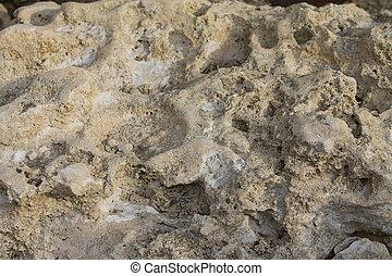 steen, zandsteen, textuur