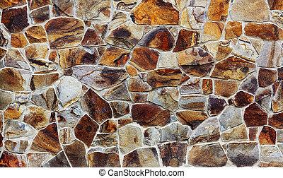 steenmuur, textuur