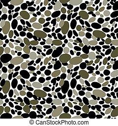 steentjes, behang, seamless, camouflage, achtergrond., textuur