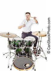 Steep drummer