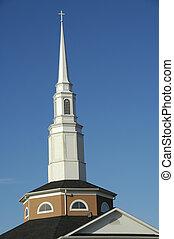 steeple, 2, 教会