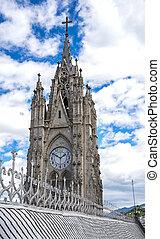 Steeple of the Basilica Church