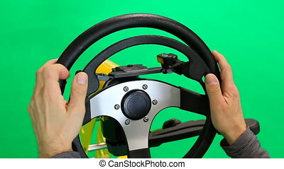 Steering wheel for disabled