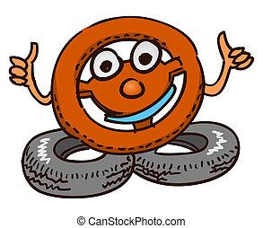 Steering Wheel Mascot