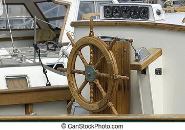 steering wheel - old fashion steering weel