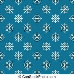 steering wheel pattern vector eps 10 blue design