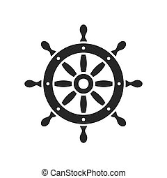 steering wheel vector illustration