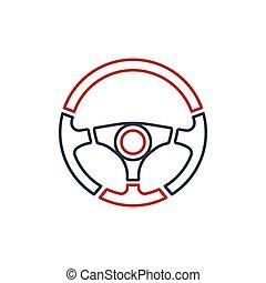 Steering Wheel vector logo