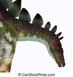 Stegosaurus Dinosaur Head