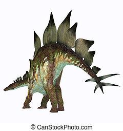 Stegosaurus Dinosaur Tail