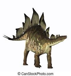 Stegosaurus - The Stegosaurus dinosaur is known for its...