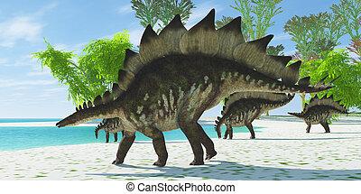 Stegosaurus Lake
