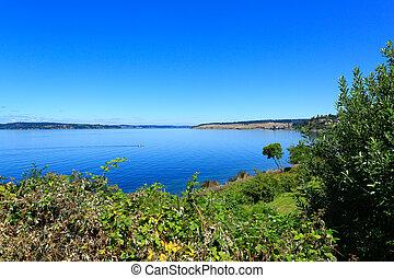 Steilacoom beach park. Washington state