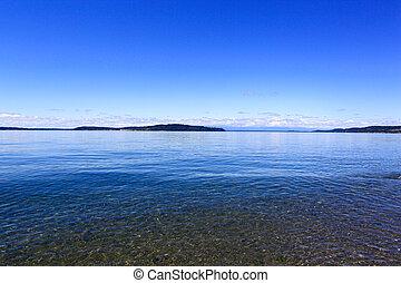Steilacoom beach. Washington state