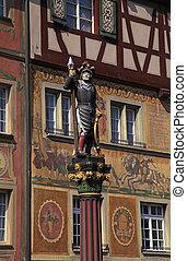Stein am Rhein(Switzerland) - The town Stein am Rhein...