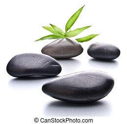 stein, concept., zen, pebbles., healthcare, spa