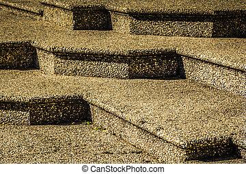 stein, schritte
