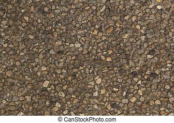 stein, st, ??of, umgeben ziegel mauer, beschaffenheit, wand, sandstein, gemacht, klein