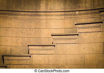 stein, treppenaufgang