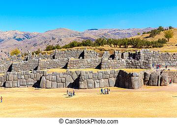 stein, uralt, masonry., wand, architecture., polygonal, ...