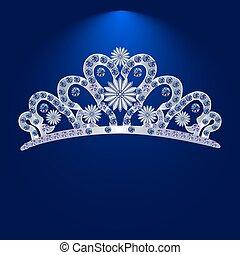 steine, kostbar, tiara