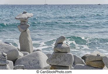 steine, kunstwerk, schoenheit, natur