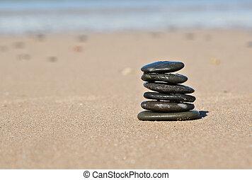 steine, sandstrand