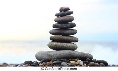 steine, stapel