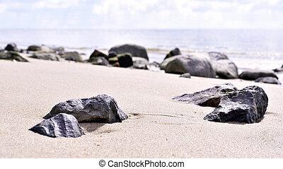 steine, strand