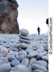 steine, turm