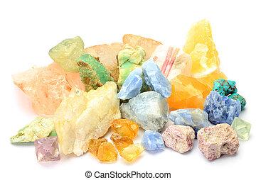 steine, verschieden, natur