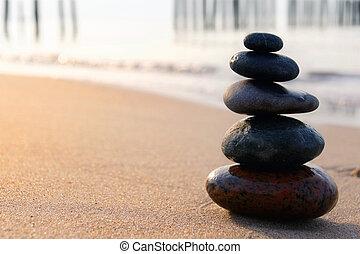 steine, zen