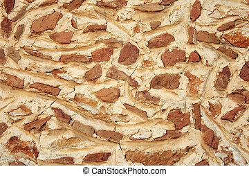 steinmauer, beschaffenheit, hintergrund