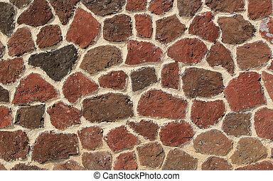 steinmauer, beschaffenheit