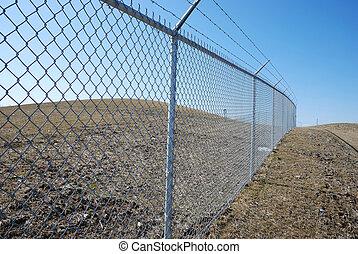 stekelig hek