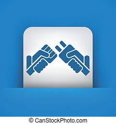 stekker, concept, pictogram